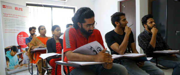 IELTS classes in Thrissur